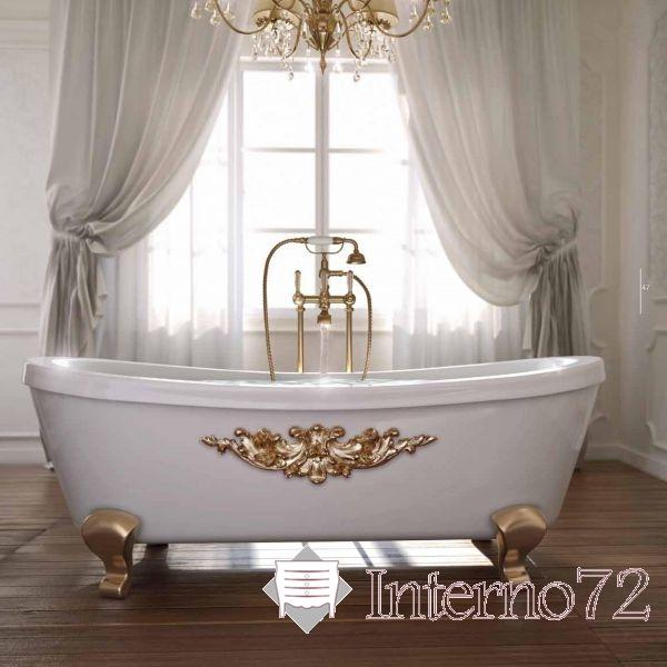 Arredobagno vasca da bagno in legno massello modello - Vasca bagno legno ...