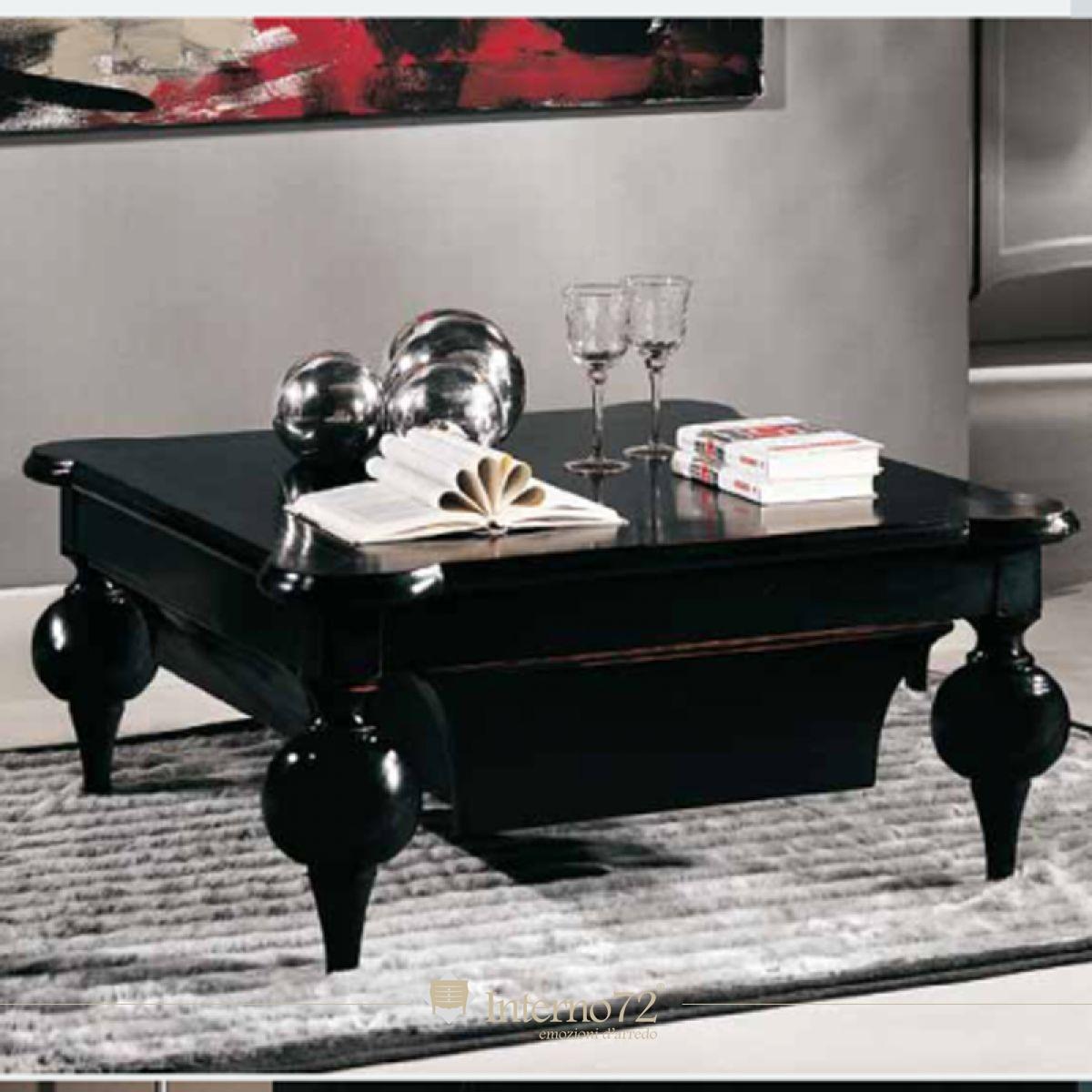 Tavolino con gambe tornite mod.Borsò