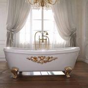 vasca da bagno in legno massello modello perla
